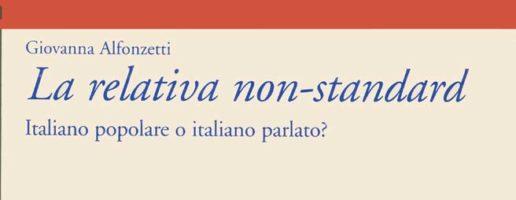 Giovanna Alfonzetti | La relativa non-standard