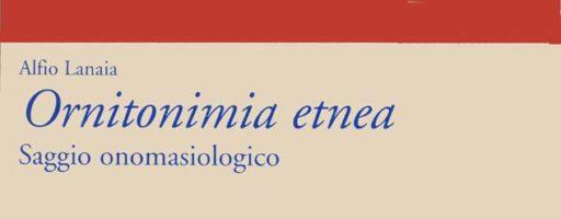Alfio Lanaia | Ornitonimia etnea