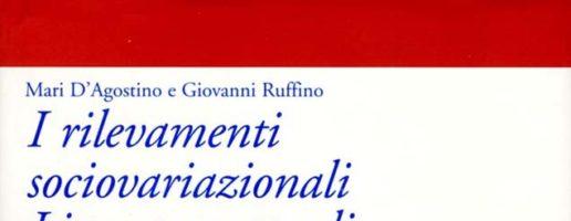 Mari D'Agostino, Giovanni Ruffino | I rilevamenti sociovariazionali