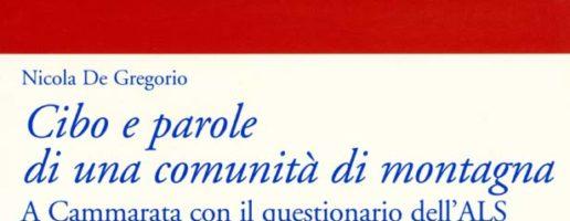 Nicola De Gregorio | Cibo e parole di una comunità di montagna