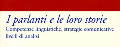 Luisa Amenta, Giuseppe Paternostro   I parlanti e le loro storie