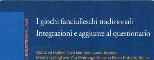 Giovanni Ruffino, Nara Bernardi et. al. | I giochi fanciulleschi tradizionali