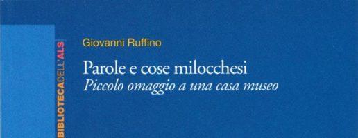 Giovanni Ruffino | Parole e cose milocchesi