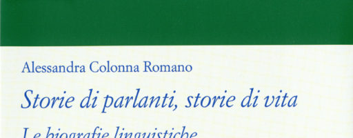 Alessandra Colonna Romano | Storie di parlanti, storie di vita