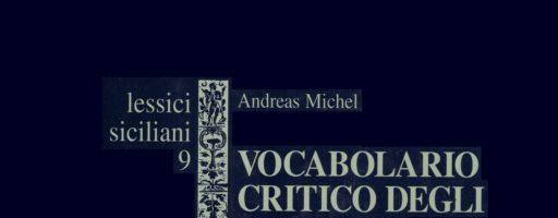 Michel Andreas | Vocabolario critico degli ispanismi siciliani