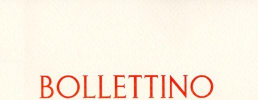 Bollettino n. 29 / 2018