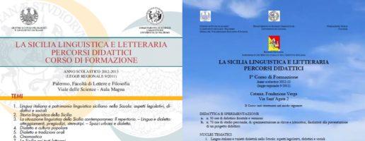 Seminari di formazione: Palermo/Catania febbraio-maggio 2013