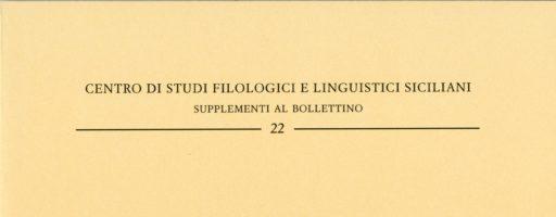 Salvatore C. Trovato | Parole galloitaliche in Sicilia