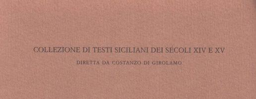 Gaetana Maria Rinaldi | Testi d'archivio del Trecento ( vol. I)