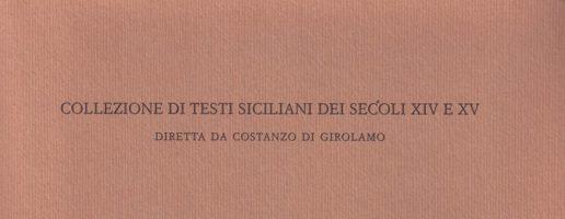 Giuliano Gasca Queirazza, S.J. | Meditacioni di la vita di Christu