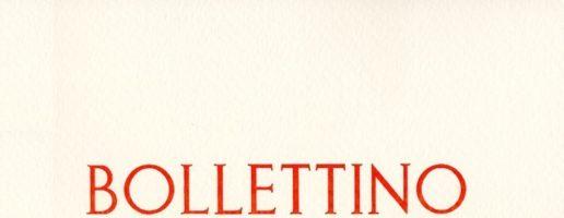 Bollettino n. 27 / 2016