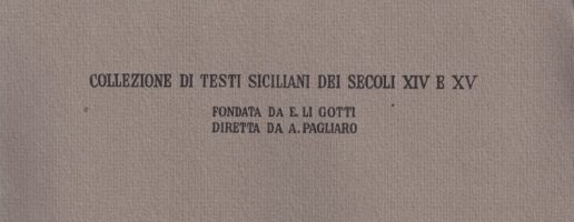 Francesco A. Ugolini | Valeriu Maximu translatatu in vulgar messinisi per Accursu di Cremona (vol. I)