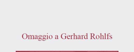 Omaggio a Gerhard Rohlfs