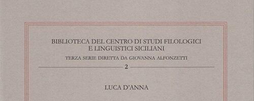 Luca D'Anna | Italiano, siciliano, e arabo in contatto