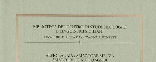 S.C. Trovato, S.C. Sgroi et al. | Per un Nuovo Vocabolario Siciliano